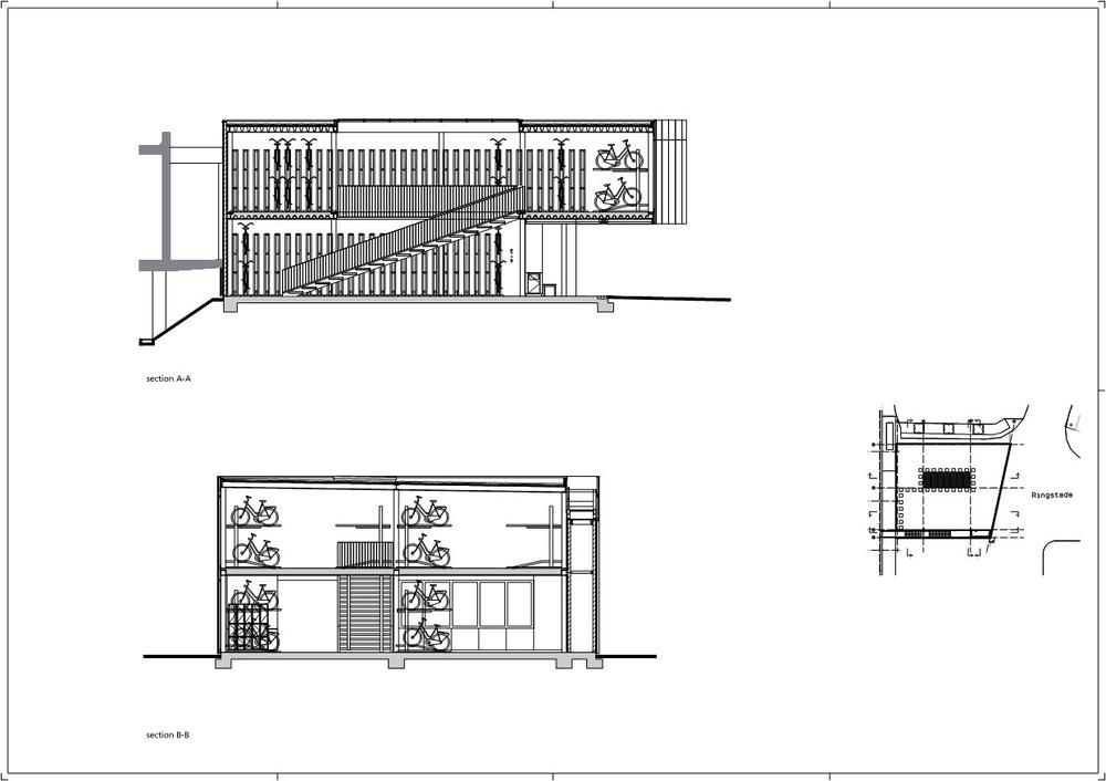剖面图2/首层平面图/屋顶平面图/原始尺寸/总平面图