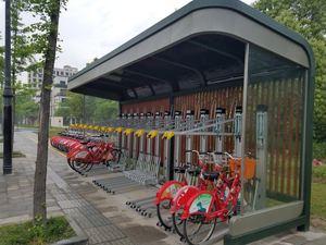 杭州公共自行车储车棚