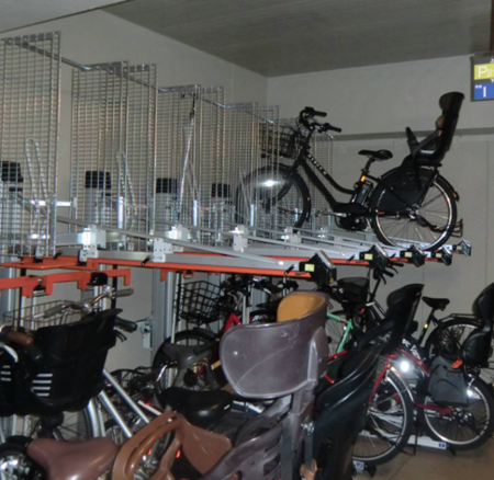 上层全自动垂直 升降式停车架 (GCR型)